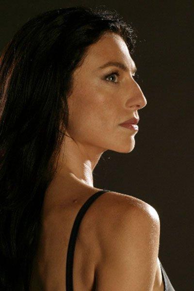 Claudia Black as Aeryn Sun.