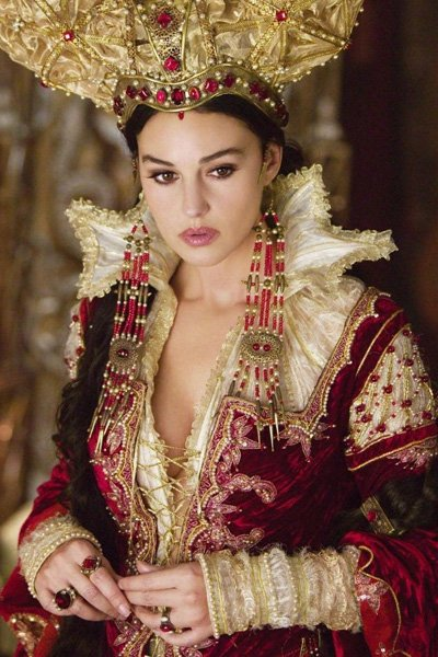 Monica Bellucci as The Mirror Queen.