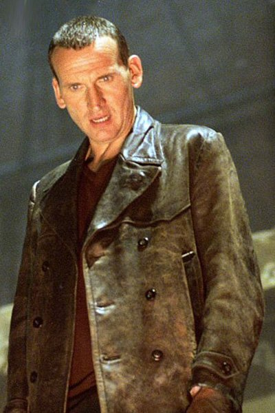 Christoper Eccleston as the Ninth Doctor
