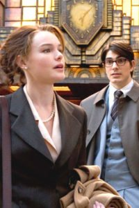 Kate Bosworth and Brandon Routh as Louis Lane and Clark Kent.