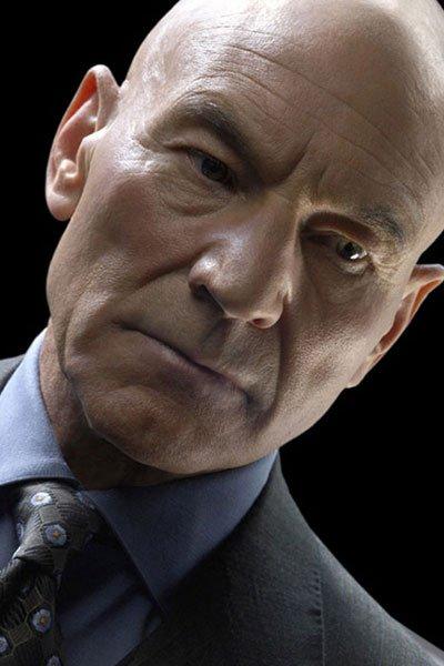 Patrick Stewart as Charles Xavier / Professor X.