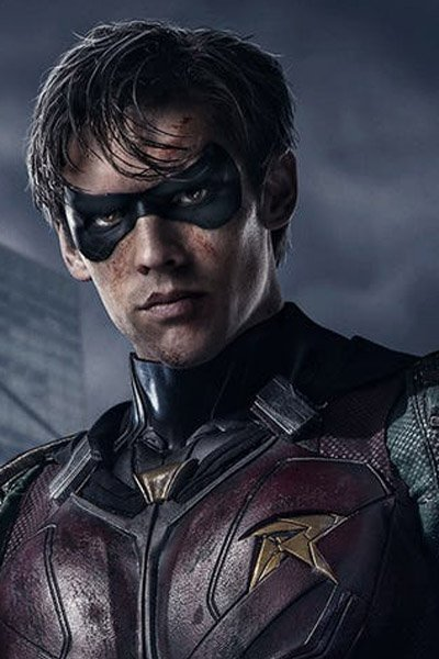 Brenton Thwaites as Robin / Dick Grayson.