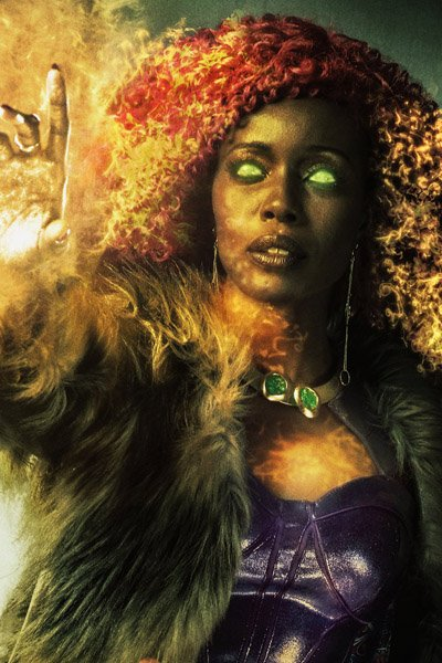 Anna Diop as Starfire / Kori Anders.