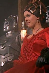 Dervla Kirwan as Miss Hartigan in the Doctor Who Christmas episode